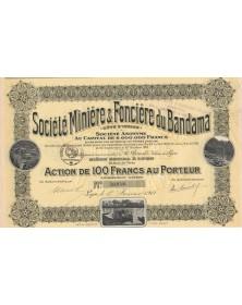 Sté Minière & Foncière du Bandama (1919)