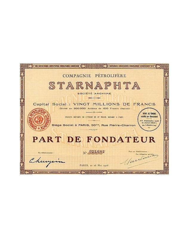 Compagnie Pétrolifère Starnaphta