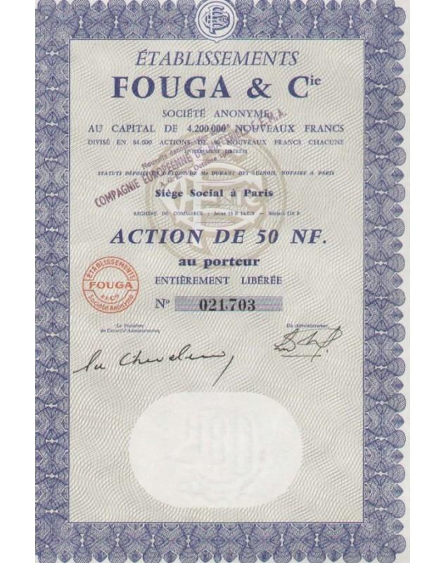Ets Fouga & Cie