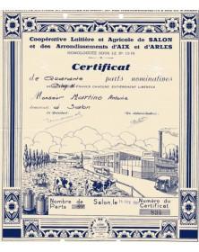 Coopérative Laitière et Agricole de Salon et des Arrondis. d'Aix et d'Arles