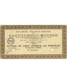 Sté Franco-Belge du Caoutchouc-Mousse