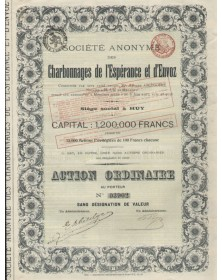 S.A. des Charbonnages de l'Espérance et d'Envoz