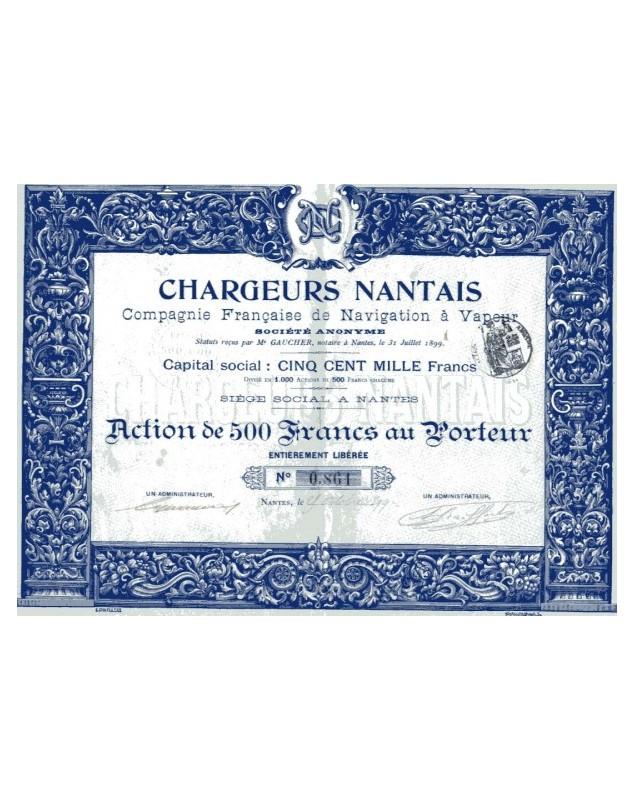 Chargeurs Nantais - Cie Française de Navigation à Vapeur