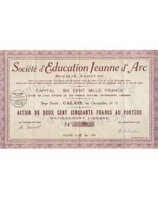 Sté d'Education Jeanne d'Arc