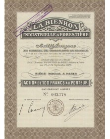 La Bienhoa Industrielle & Forestière