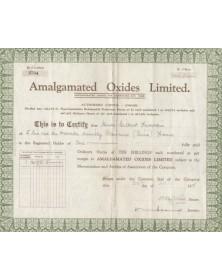 Amalgamated Oxides Limited