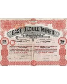 East Geduld Mines Ltd.