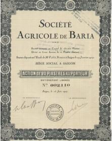 Sté Agricole de Baria