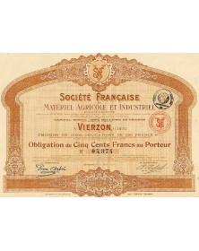 Sté Française de Matériel Agricole et Industriel