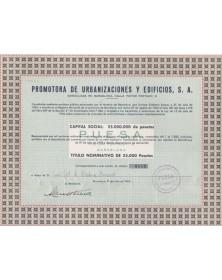 Promotora de Urbanizaciones y Edificios , S.A.