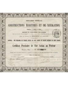 Constructions Maritimes et de Navigation Chantiers et Ateliers à Cette (A. Séguineau)