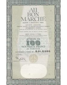 Au Bon Marché, Maison A. Boucicaut, Paris Department Stores