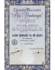 """Grands Magasins -Au Printemps-"""". Laguionie et Cie"""""""