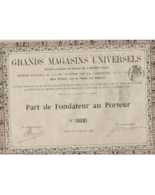 Grands Magasins Universels