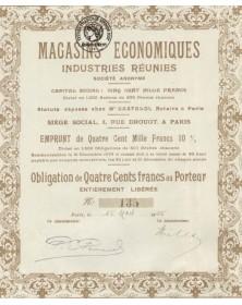 Magasins Economiques industries réunis