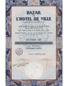 Bazar de l'Hotel de Ville (Ancienne Maison Vve Ruel & Cie)