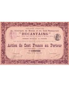 S.A. de l'Entrepôt de Bières et du Café-Restaurant ''Ducastaing''