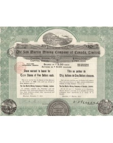 The San Martin Mining Company of Canada