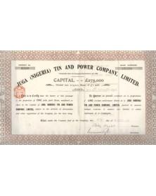 Juga Tin and Power Company