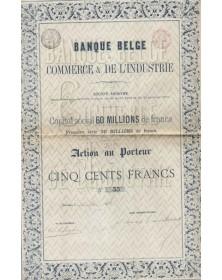 Banque Belge du Commerce & de l'Industrie