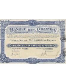 Banque des Colonies
