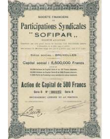 Parcipations Syndicales ''SOFIPAR''