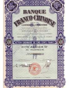 Banque Franco-Chinoise pour le commerce & l'industrie
