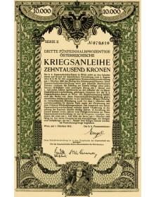 3ème Emprunt de Guerre Autrichien 5,5%