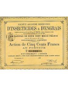 S.A. Minervoise d'Insecticides & d'Engrais