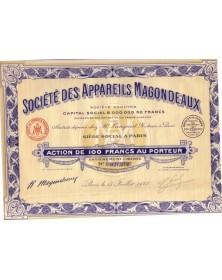 Sté des Appareils Magondeaux (Phares)
