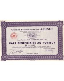 Anciens Ets A. Binet (Accessoires Aéronautiques)