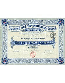 Sté des Automobiles Sigma