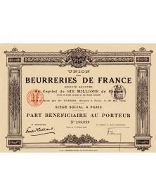 Union des Beurreries de France