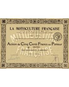 La Motoculture Française