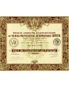 S.A. d'Exploitation du Suralimentateur Automatique Royer