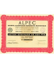 ALPEC - Sté d'Alimentation Parisienne Economique