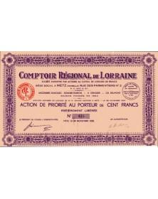 Comptoir Régional de Lorraine