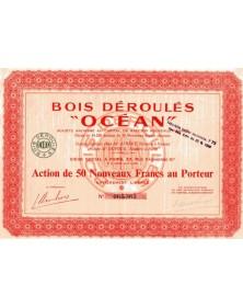 Bois Déroulés ''OCEAN''