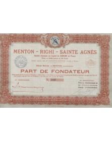 Menton-Righi-Ste Agnès