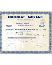 Chocolat Morand