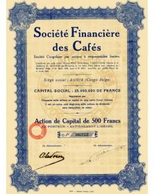 Sté Financière des Cafés