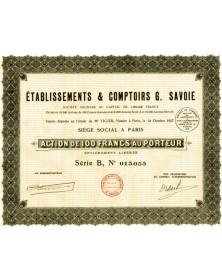 Ets & Comptoirs G. Savoie
