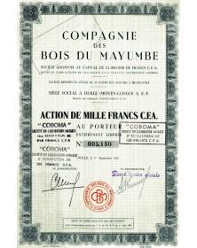 Cie des Bois du Mayumbe