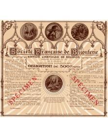 Sté Française de Bijouterie - Edition d'Articles de Religion