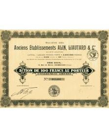 Sté des Anciens Ets Alin, Liautard & Cie (Carrosserie)
