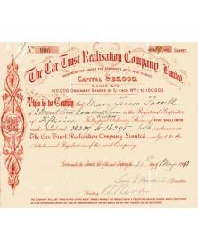 The Car Trust Realisation Company Ltd.