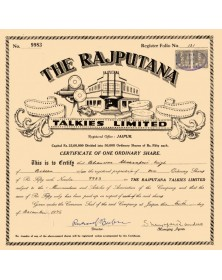 The Rajputana Talkies Ltd.