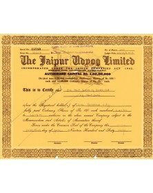 The Jaipur Adnog Ltd