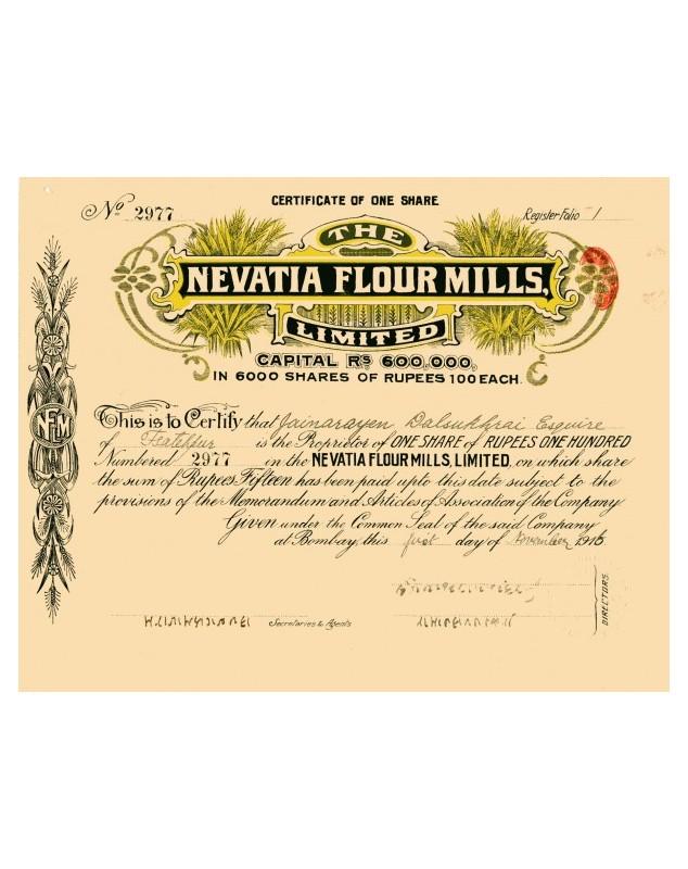 The Nevatia Flour Mills
