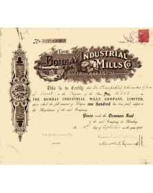 The Bombay Industrial Mills Co. Ltd